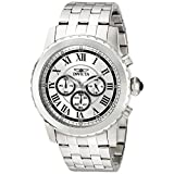 Invicta Men's 19467 Specialty Analog Display Japanese Quartz Silver Watch