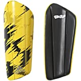 Adidas Performance Berlin Print Ghost Pro Shin Guard, X-Small, Yellow/Pantone/Black, X-Small/Berlin Print: Yellow...