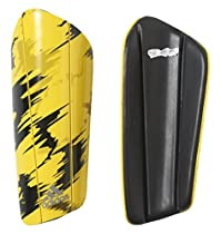 adidas Performance Berlin Print Ghost Pro Shin Guard, X-Small, Yellow/Pantone/Black