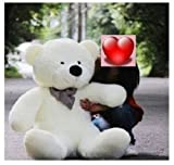 quality classic Giant 100cm BIG Cute White Plush Teddy Bear Huge 39 Soft 100 Pp Cotton Toy