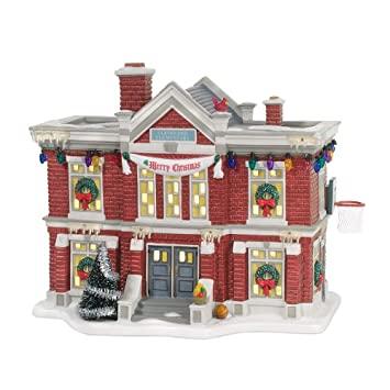 #!Cheap Department 56 Christmas Story Village Cleveland Elementary School