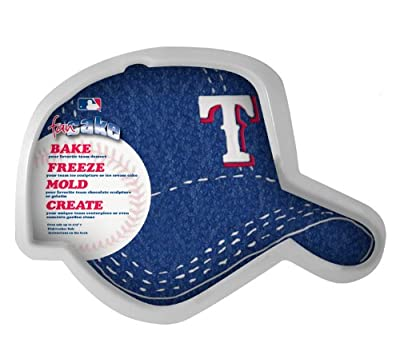 MLB Texas Rangers Fan Cakes Heat Resistant CPET Plastic Cake Pan