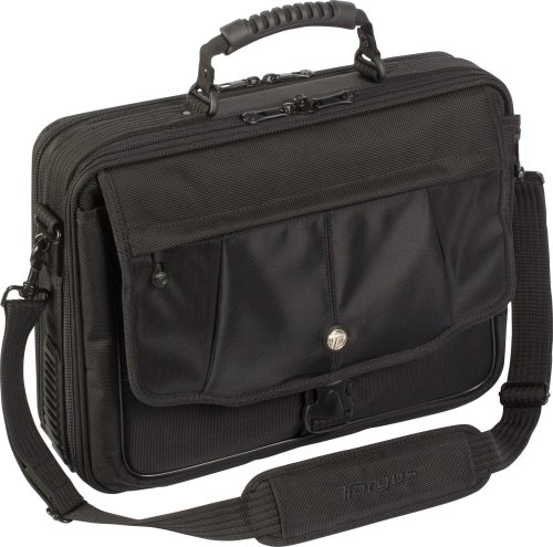 Targus Blacktop Deluxe Case Designed to Protect 15.4 Inch Laptops CBT401US (Black)