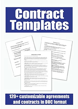 Contract Templates CD-ROM