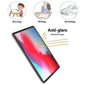 Premium PET Film Anti-Glare Matte Screen Protector for iPad Pro 11 2018 2-Pack