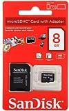 Sandisk SDSDQB-008G-B35 - SANDISK MICROSDHC 8GB WITH ADAPTER