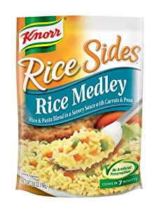 Knorr/Lipton Rice & Sauce, Rice Medley, 5.6-Ounce Packages (Pack of 12)