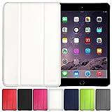 AirPlus AirCase Poromoric Leather Material Snap On Case for Apple iPad Mini (Snow White)