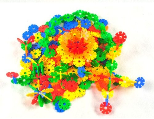 300pcs Wholesale Lots DIY Colorful Creative Sunflower Blocks Kid Educational Toy