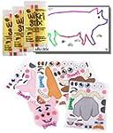 Farm Animal Stickers & Wikki Stix Par...