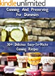 Canning And Preserving For Dummies 30...