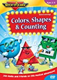 Colors, Shapes & Counting (Rock 'N Learn)