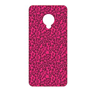 Vibhar printed case back cover for Micromax Canvas Spark Q380 PinkIdhar