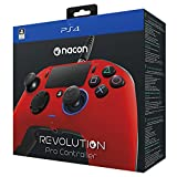 NACON Revolution PRO Controller Gamepad Red Edition PS4 Playstation 4 eSports Designed (Color: Red)