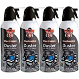 Dust-Off Compressed Gas Duster - 4 Pack - DPSXL4