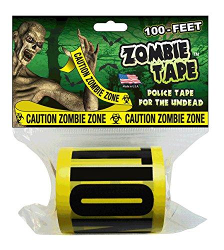 Zombie Tape - CAUTION ZOMBIE ZONE - 100 Feet!