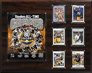 NFL Pittsburgh Steelers 16 x 20-Inch All-Time Great Photo Plaque by C&I Collectables