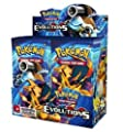 Pokemon TCG Card Game XY Evolutions Factory Sealed Booster Box - 36 packs of 10 cards each from The Pokémon Company International, Inc