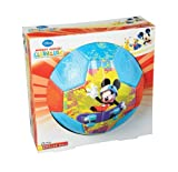 Franklin Sports Disney Mickey Mouse Clubhouse Air Tech Soft Foam Soccer Ball, Size 3