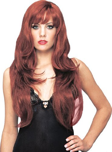 Deluxe Dream Girl Wig (Natural Red)