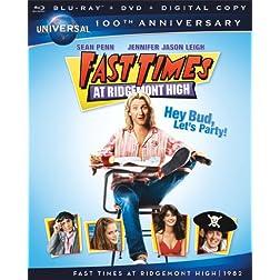 Fast Times at Ridgemont High [Blu-ray + DVD + Digital Copy] (Universal's 100th Anniversary)