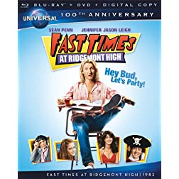 Fast Times at Ridgemont High [Blu-ray + DVD + Digital Copy] (Universal's 100th Anniversary)