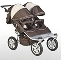 Hot Sale Valco Baby CHOCOLATE EX Twin Tri-Mode Double Stroller..