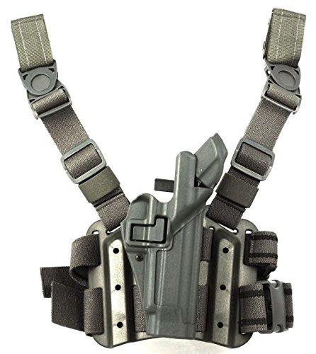Blackhawk! Serpa Level 3 Tactical Foliage Green Holster, Size 04, Right Hand (Beretta 92/96/M9 Std Or A1 W/Rails (Not Brig/Elite)