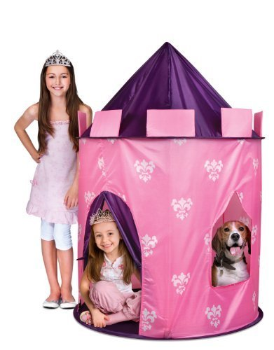Discovery Kids Indoor/ Outdoor Princess Play Castle Pink Play Tent By Discovery Kids front-233581