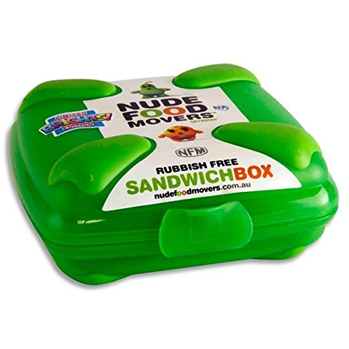 Nude Food Movers Rubbish Free Sandwich Box Green