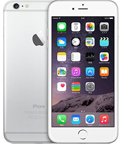 米国並行輸入品SIMフリー iPhone 6 Plus アップル Apple 5.5インチカメラシャッター無音 (128GB, シルバー Silver)