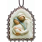 Willow Tree Holy Family Metal Edged Ornament By Susan Lordi By Willow Tree By Susan Lordi, From DEMDACO