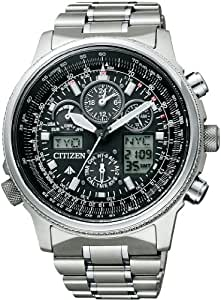 [シチズン]CITIZEN 腕時計 PROMASTER プロマスター Eco-Drive エコ・ドライブ 電波時計 クロノグラフ PMV65-2271 メンズ