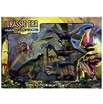 5 Piece Jumbo Dinosaur Playset Toy An...