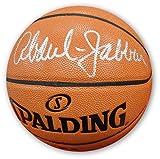 Kareem Abdul Jabbar Hand Signed Auto Spalding Basketball LA Lakers Beckett BAS