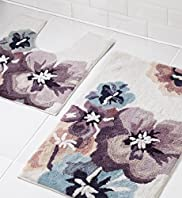 Floral Bath & Pedestal Mats