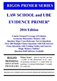 img - for Rigos Primer Series Law School and UBE Evidence Primer: 2016 Edition book / textbook / text book