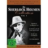 Die Sherlock Holmes Collection 1  Der Hund von Baskerville / Die Abenteuer des Sherlock Holmes / Die Stimme des Terrors / Die Geheimwaffe  - 4 DVDs