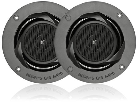 "15-Pr52V2 - Memphis 5.25"" 2-Way Power Reference Coaxial Speakers W/ Swivel Tweeter"