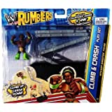 WWE Rumblers Ladder Crash Playset and Figure