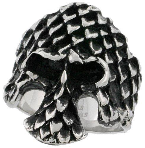 Scaly Skull Wedding Ring