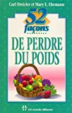 img - for 52 fa    ons de perdre du poids book / textbook / text book
