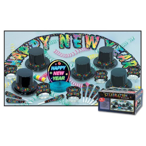 The Celebration Asst for 10 (NO RETAIL PRICE ON CARTON) Party Accessory  (1 count)