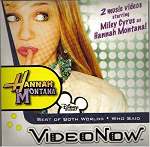 Videonow Personal Video Disc Volume HM 1 Hannah Montana - Best of Both Worlds - Who Said