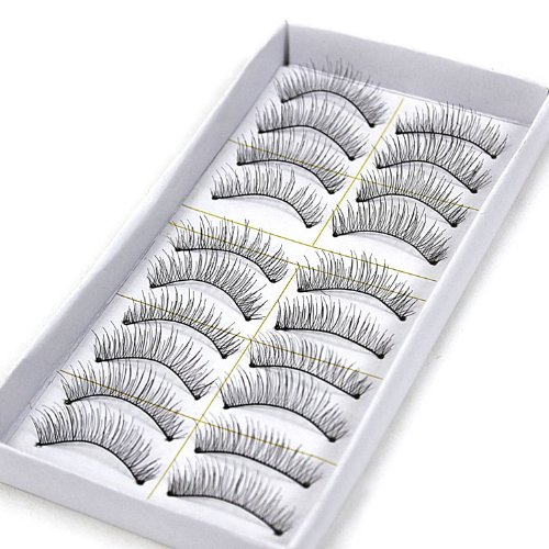 Natural Eyelash Extensions With Duo Adhesive Bundle