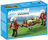 PLAYMOBIL Mountain Rescuers with Stretcher Playset