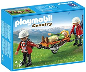 Playmobil 5430 Mountain Rescuers with Stretcher
