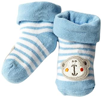 Amazon.com: Gerber Baby-Boys Newborn 1 Pack Jersey Monkey ...