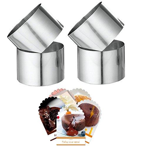 Coffret Cadeau Moelleux au Chocolat : 4 emportes pièces + Recettes