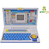 Green Frog English Learner Educational Laptop For Kids- Multcolor